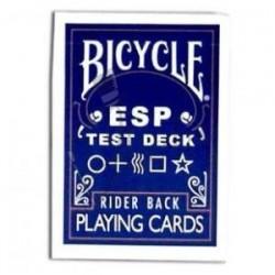 Baraja ESP o Zener en Bicycle (ESP Test Deck)