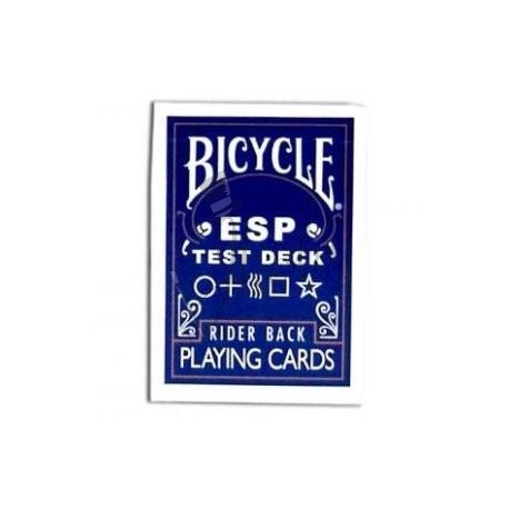Baraja ESP o Zener en Bicycle (ESP Test Deck)