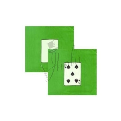 Set de Pañuelos de Seda de Cartas de 9 pulgadas (Mini Card Silk Set)