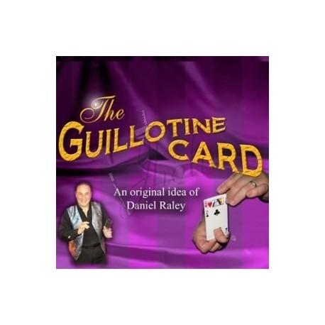 Guillotina de Cartas en Bicycle (Guillotine Card) con DVD