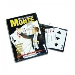 La Ultima 3 Cartas Monte en Bicycle (The Ultimate Three Card Monte - Million Dolar Monte) de Michael Skinner