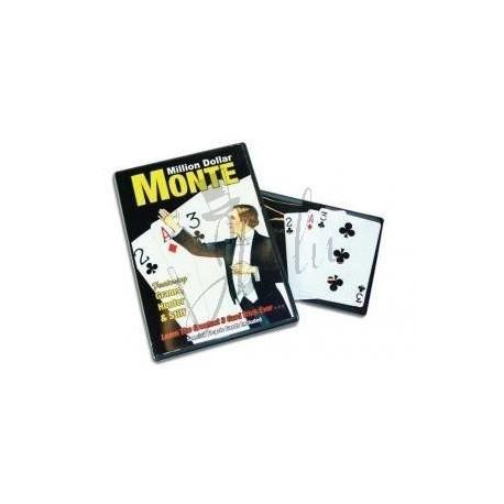 La Ultima 3 Cartas Monte en Bicycle (The Ultimate Three Card Monte - Million Dolar Monte) de Michael Skinner