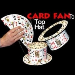 Abanico de Cartas a Sombrero de Copa (Card Fan To Top Hat)