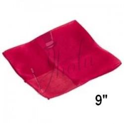 Pañuelo de Seda Cuadrado Rojo 9 pulgadas (Silk Red)