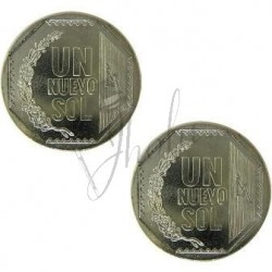Moneda Doble Cara en Nuevo Sol (Double Side Coin)