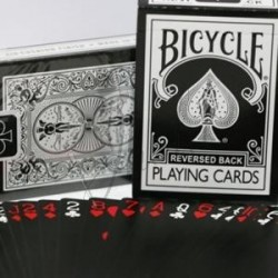 Baraja Negra Dorso Invertido en Bicycle (Reversed Back Bicycle Deck Black)