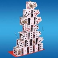 Castillo de Cartas o Naipes (Card Castle)