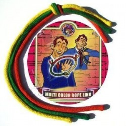 Las Sogas o Cuerdas Multicolor Enlazadas en Una (Multicolor Rope Link)