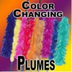 "Cambio de Color de Plumeros 14"" (Color Changing Plume)"