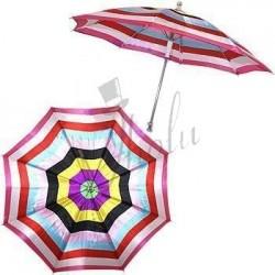 Producción de Sombrilla - Diseño Arco Iris (Parasol Production Rainbow)