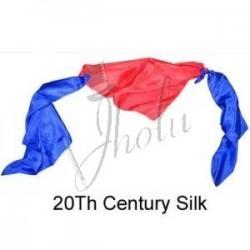 Pañuelo de Seda Siglo XX de 18 pulgadas (Twentieth Century Silk)