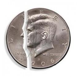 Moneda Mordida en Dolar (Bite Coin)
