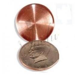 Moneda Cascarilla en Dolar (Expanded Shell Coin)