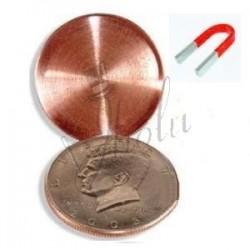 Moneda Cascarilla Magnetizable en Dolar (Expanded Shell Steel Core Coin)