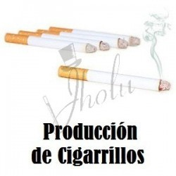 Producción de Cigarrillo (Production of Cigarette)