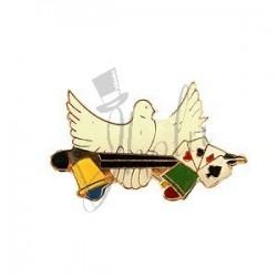 Pin de Magia - Varita Paloma (Magic Pin Dove)