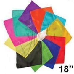 Pañuelo de Seda Cuadrado 18 pulgadas (Silk Handkerchief)