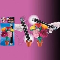 Aparición de Flores con Varita (Appearing Bouquet)
