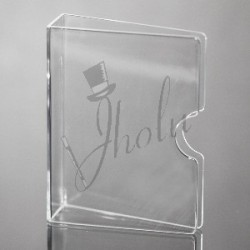 Protector de Barajas Transparente (Invisible Card Guard)