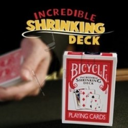 Increible Reducción de Baraja (Incredible Shrinking Deck) con DVD