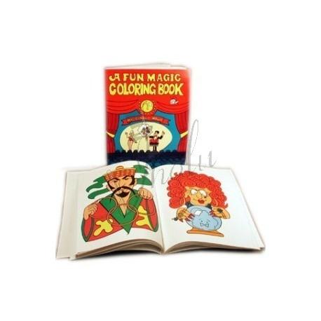 Libro de Colores (Coloring Book) - Tienda de Magia en Lima - JHOLU MAGIC