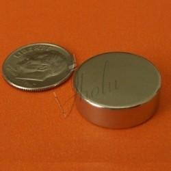 Imán de Neodimio en Disco 19mm x 6mm
