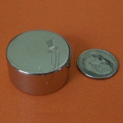 Imán de Neodimio en Disco 25mm x 12mm