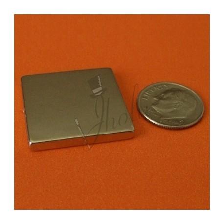 Imán de Neodimio en Bloque 25mm x 25mm x 3mm