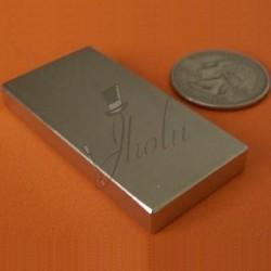 Imán de Neodimio en Bloque 50mm x 25mm x 6mm