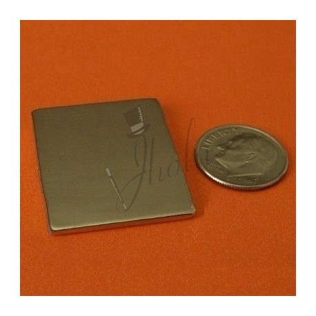 Imán de Neodimio en Bloque 30mm x 25mm x 1mm