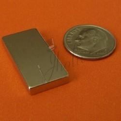 Imán de Neodimio en Bloque 25mm x 12mm x 3mm