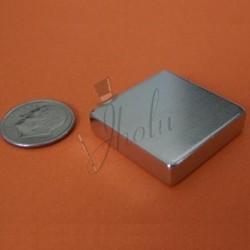 Imán de Neodimio en Bloque 25mm x 25mm x 6mm