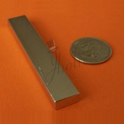 Imán de Neodimio en Bloque 76mm x 12mm x 6mm