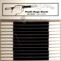 Varita Mágica - Caja de 12 (Magic Wand Plastic - One Dozen)
