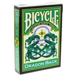 Baraja Dragón Back Verde en Bicycle