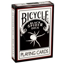 Baraja Araña Negra en Bicycle (Black Spider Deck)