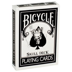 Baraja Calavera Blanca en Bicycle (Skull Deck)
