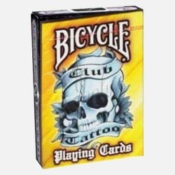 Club Tattoo Anaranjado Deck en Bicycle