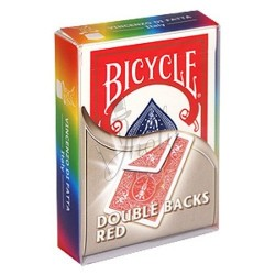 Cartas Doble Dorso Rojo en Bicycle (Bicycle Double Back Red)