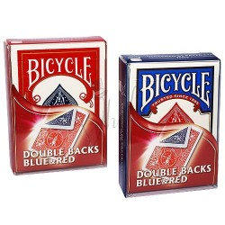 Cartas Doble Dorso Azul / Rojo en Bicycle (Bicycle Double Back Blue / Red)