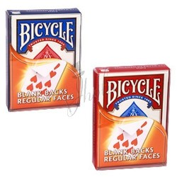 Cartas Dorso Blanco / Cara Regular en Bicycle (Bicycle Blank Backs / Regular Faces)