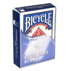 Cartas Blancas Ambos Lados en Bicycle (Bicycle Both Sides Blank)