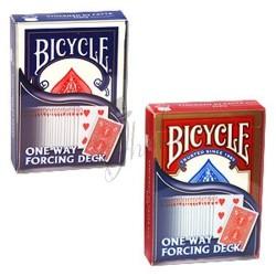 Baraja de Forzaje 52 cartas iguales en Bicycle (One Way Forcing Deck).