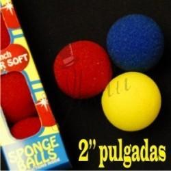 "Bola de Esponja 2"" Super Soft (Sponge Ball) - Goshman"