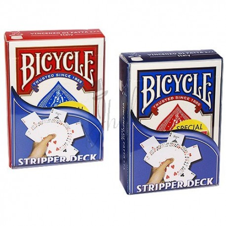 Baraja Biselada en Bicycle (Stripper Deck)