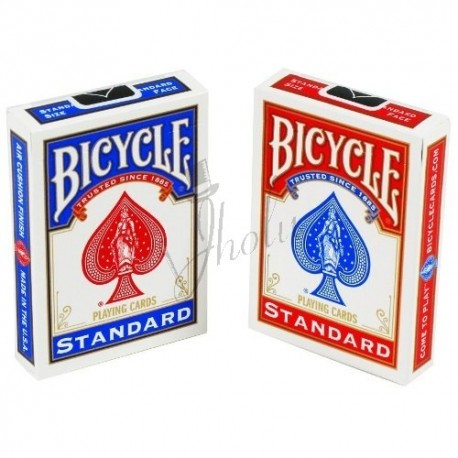 Cartas Bicycle Poker Standard - Dorso Azul/Rojo (Deck Blue/Red)