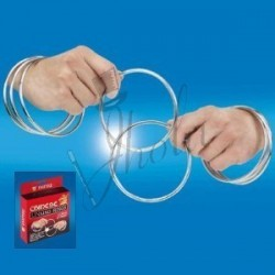 "Aros Chinos 4"" para Close Up (Chinese Linking Rings)"