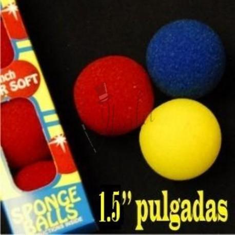 "Bola de Esponja 1.5"" Super Soft (Sponge Ball) - Goshman"
