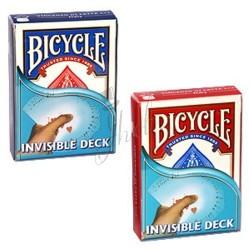 Baraja Invisible en Bicycle (Invisible Deck)