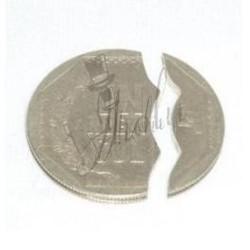 Moneda Mordida en Nuevo Sol (Coin Bite)